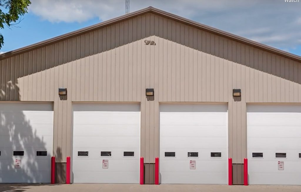 CHI 3236 Sectional Commercial Garage Doors