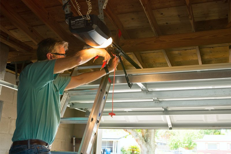 garage door maintenance example