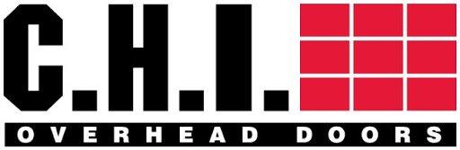 residential garage doors, CHI Overhead Doors logo, color