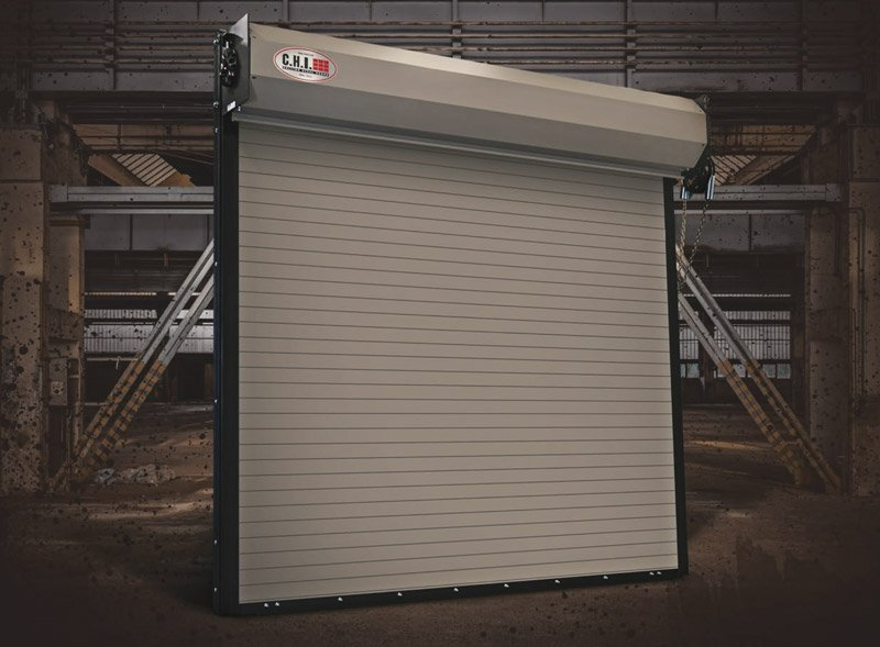 CHI 6242 Coiling Commercial Garage Door
