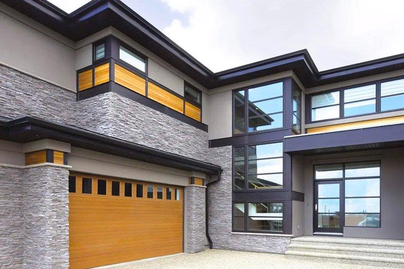 garage door colors and design