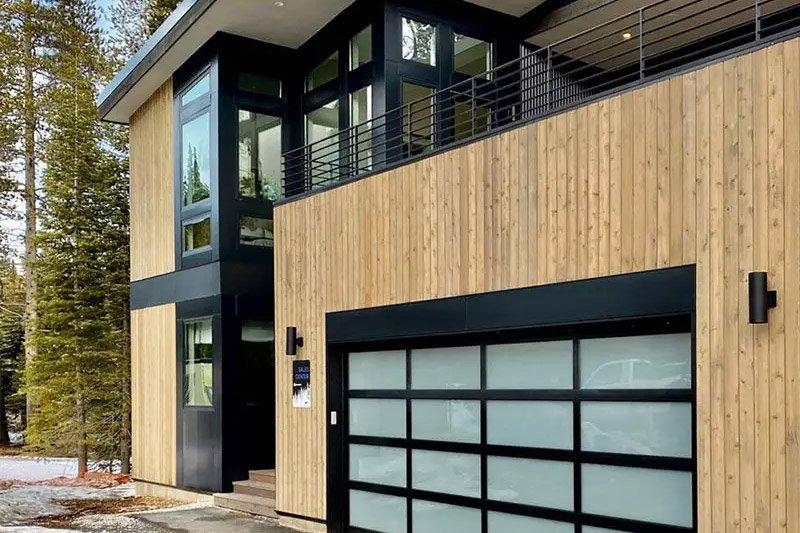 Home exterior; buying a garage door