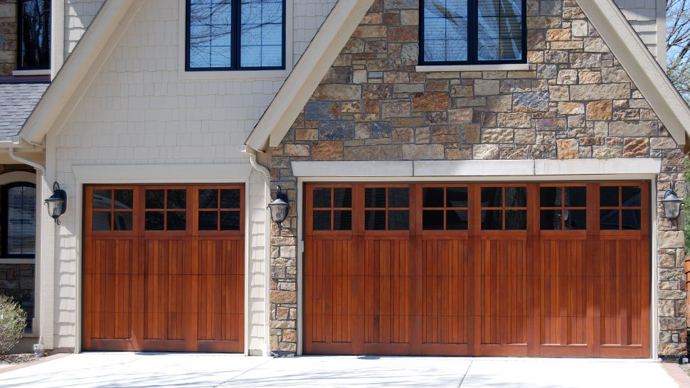 residential garage doors project