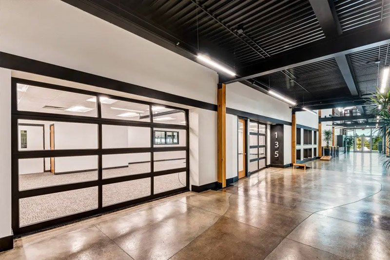 commercial garage door expertise, the quad project