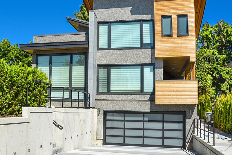 residential garage doors example