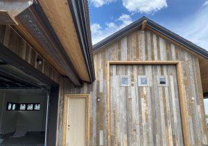 reclaimed barn wood door